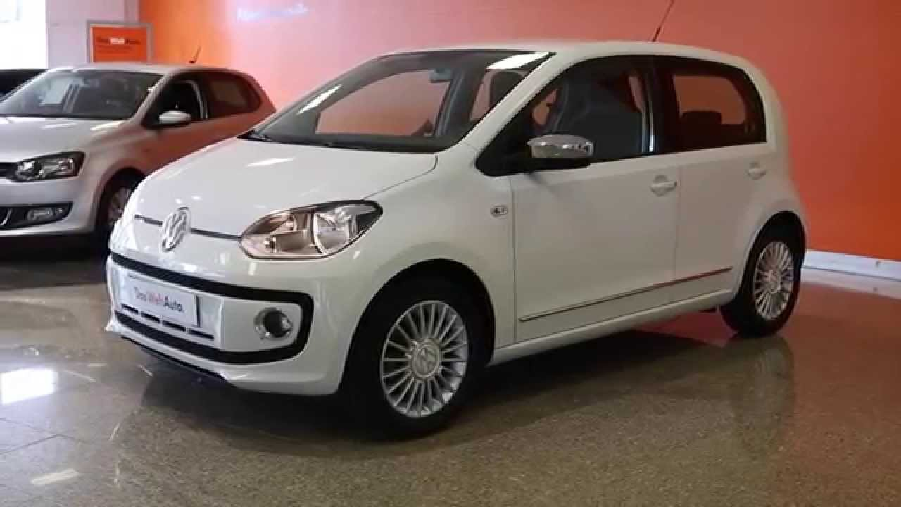 volkswagen up occasion 1 0 60 high up asg5 blanc candy