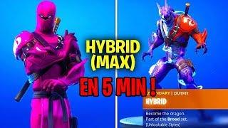DÉBLOQUER LE SKIN MAX EN 5 MINUTES !! Glitch Fortnite Saison 8 !