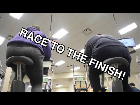 1 Mile Stationary Bike Challenge Christmas Fitness Cup Vlogmas