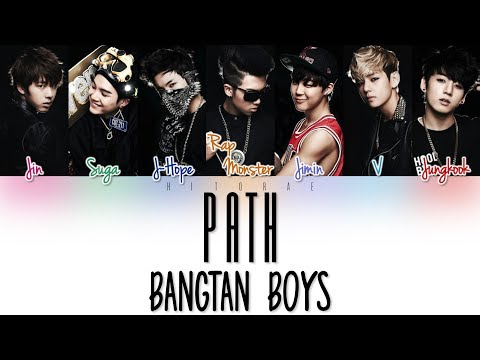BTS (방탄소년단) - 길 (Road/Path) Color Coded Lyrics HAN/ROM/ENG