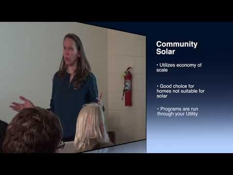Solar 101 Workshop