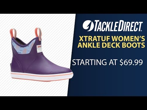 Xtratuf Women's Ankle Deck Boots At TackleDirect (TOP SELLER)