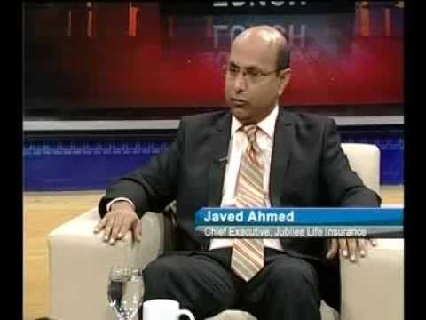 """Javed Ahmed, CEO of Jubilee Life - live on Business Plus program """"Business Lunch"""""""