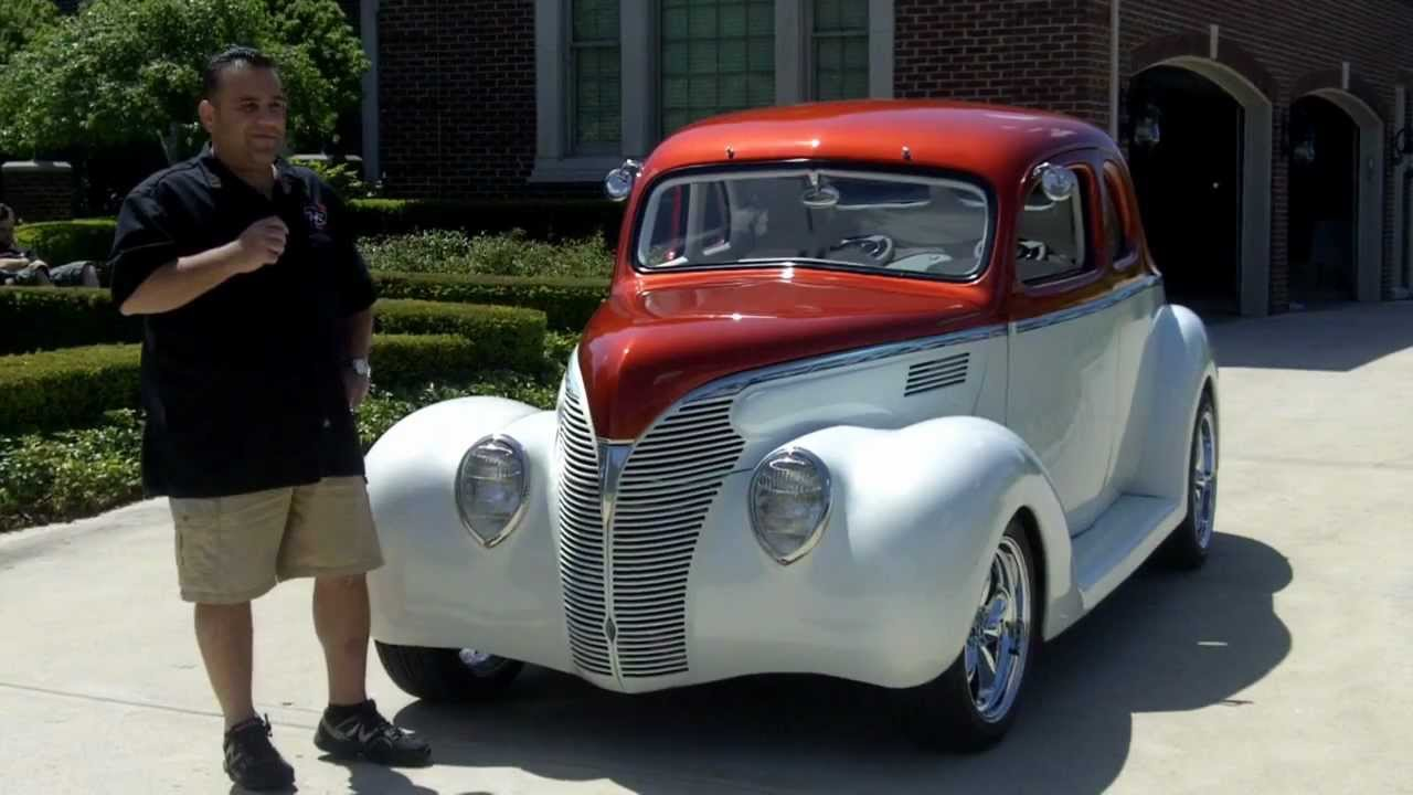 1939 Ford Street Rod Classic Muscle Car For Sale In Mi Vanguard Motor Sales Youtube