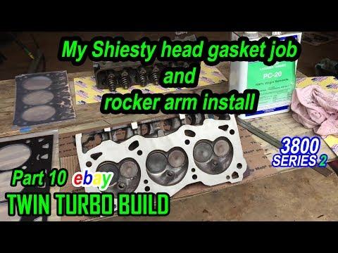 Repeat My sheisty head job and rocker arm install  3800 series 2