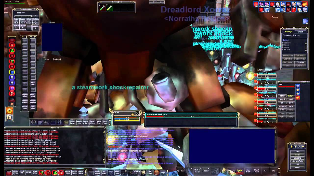 Everquest Mechanical Guardian Shadowknight Swarming tutorial