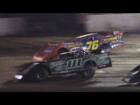 ULMS Super Late Model Heat Two   Eriez Speedway   9-22-17