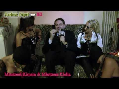 Andrea Diprè presenta Mistress Kimera e Mistress Klelia con due schiave
