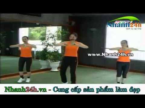 Thể dục thẩm mỹ, bài tập chân - Nhanh24h.vn