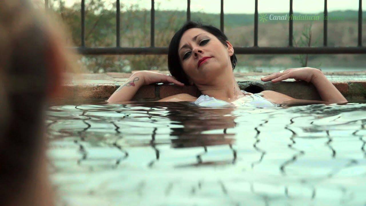 Los ba os de z jar piscina natural z jar granada youtube - Banos de zujar ...