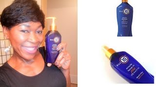 Its a 10 Miracle Shampoo Plus Keratin Sulfate free Review