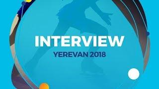 Alexandra Trusova (RUS) | Interview | Yerevan 2018