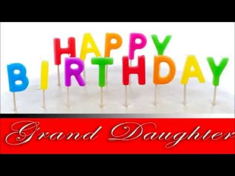 Happy Birthday, Grand Daughter! E card greetings to you ...