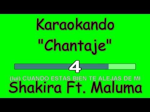 Karaoke Internazionale Duets - Cantaje - Shakira - Maluma ( Lyrics )