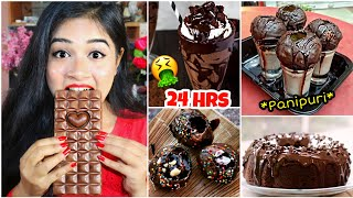 I only ate CHOCOLATE for 24 HOURS!! Nilanjana Dhar
