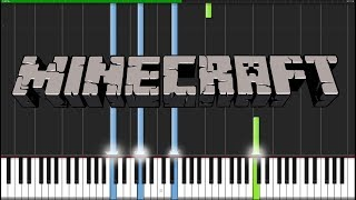 Download Mp3 Subwoofer Lullaby - Minecraft  Piano Tutorial   Synthesia  // Torby Brand