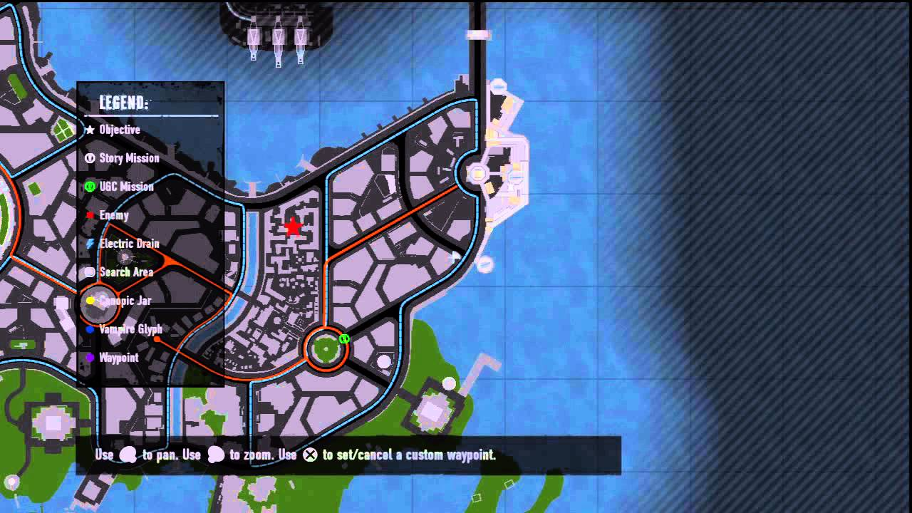 inFAMOUS: Festival of Blood Canopic- Canopic Jar Locations PART 2 on crash bandicoot 2 map, forza 4 map, prototype 3 map, grandia 2 map, prototype 2 map, infamous festival of blood mary's teachings, everybody's gone to the rapture map, crash twinsanity map, infamous second son map, uncharted 2 map, grim dawn map, infamous first light map, mortal kombat 2 map, arkham city map, just cause 2 map, bound by flame map, the witcher 3: wild hunt map, batman: arkham knight map, grand theft auto: san andreas map, pac-man world 2 map,