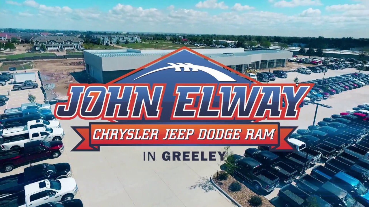 John Elway Dodge >> John Elway Chrysler Jeep Dodge Ram Is Expanding In Greeley, CO - YouTube