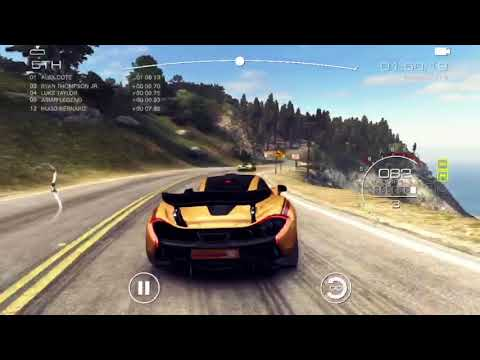 GRID Autosport: A Race Downhill On The Big Sur (iOS)