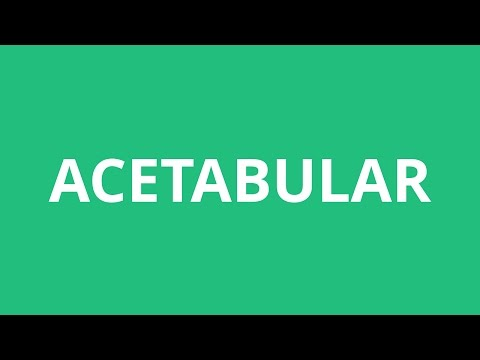How To Pronounce Acetabular - Pronunciation Academy