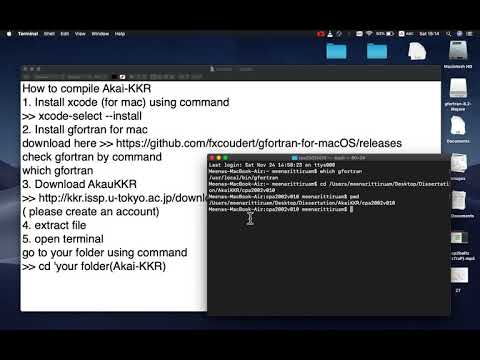 How to compile Akai KKR in macbook air