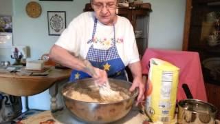 Grandma Grace Making Bread