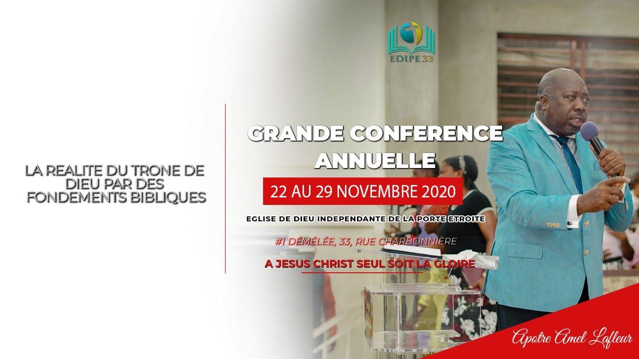 Conférence | La Réalité du trône de Dieu par des Fondements Bibliques 2e Edition| 5e Soirée