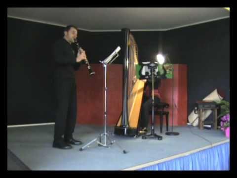 Ave Maria (Bach/Gounod) - arpa e clarinetto