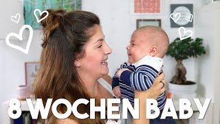 8 WOCHEN BABY UPDATE | Entwicklung, Schübe, Schlafverhalten