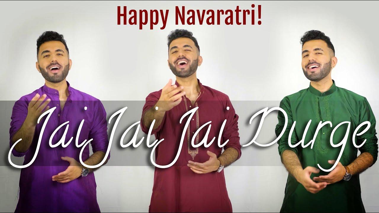 Jai Jai Jai Durge - Raag Durga   Navaratri 2021   Abby V, Joy Sengupta   Hindustani Classical