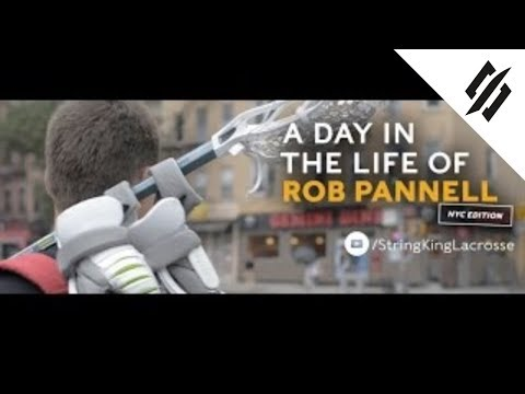 Day In The Life Of Rob Pannell | New York City | StringKing Lacrosse