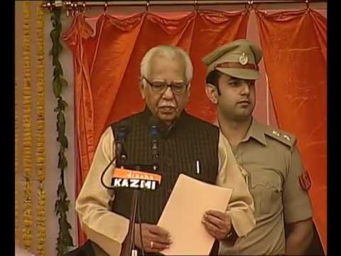 ceremony of the new State Government of Uttar Pradesh