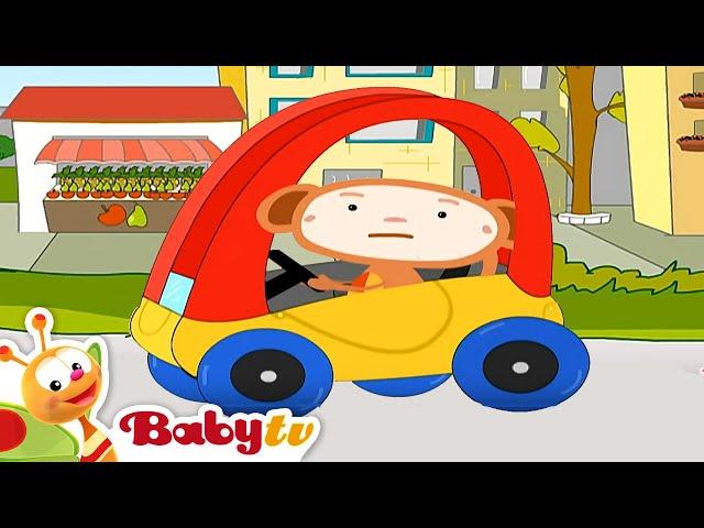 Oliver's auto houdt hem voor de gek- BabyTV Nederlands