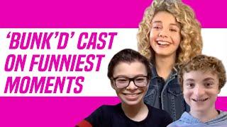 BUNK'D Cast Talks Funniest Moments on Set