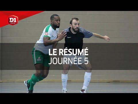 D1 Futsal, Journée 5 : tous les buts