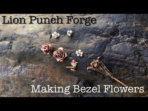 Botanical Metalsmithing! EASY! Bezel Flowers Turn Bezels into Decorative Embellishments -DIY- How To