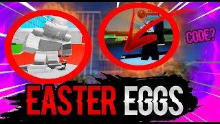 [SECRETS!] EVERY EASTER EGGS 🐣 IN BOKU NO ROBLOX:REMASTERED