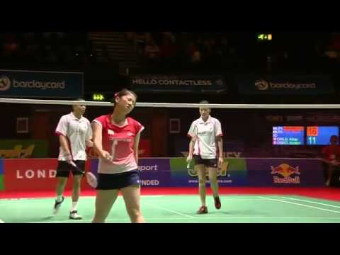 ‪Round 64 Day 1   Mixed Doubles   Yonex BWF WorldChampionships 2011‬‏   YouTube