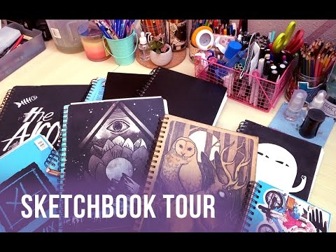 Sketchbook Tour! 2011-2016