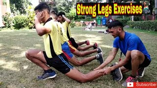Leg Workouts- Strong Legs Exercises For Running