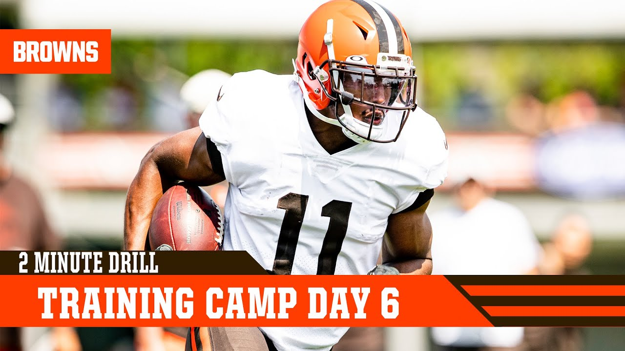 Training Camp Day 6   2 Minute Drill