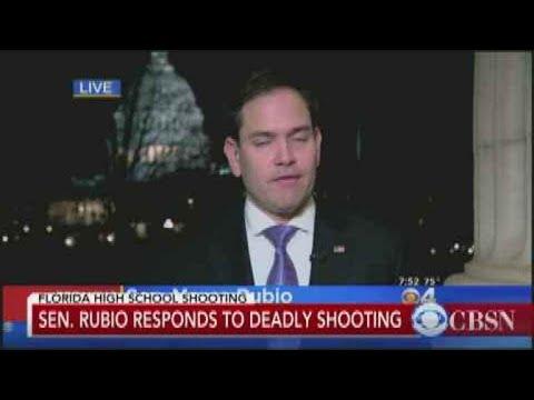 Sen. Marco Rubio response to school shooting