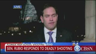 Sen. Marco Rubio response to school shooting