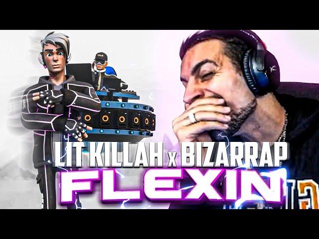 REACCIONANDO A LIT killah x Bizarrap - Flexin' - Coscu