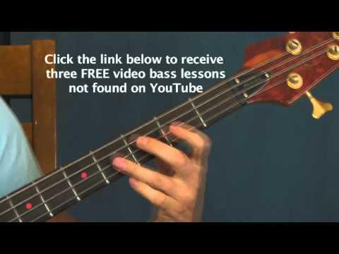 beginner bass guitar lesson 99 red balloons nena ninety nine luft