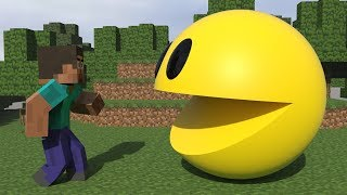 Pacman vs Minecraft [The Conflict]