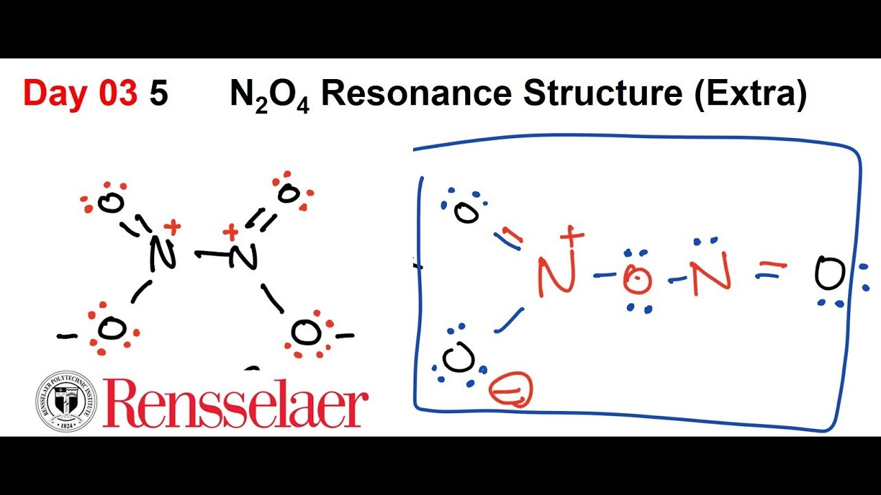 Day03 5 Resonance Structure Of N2o4  Extra