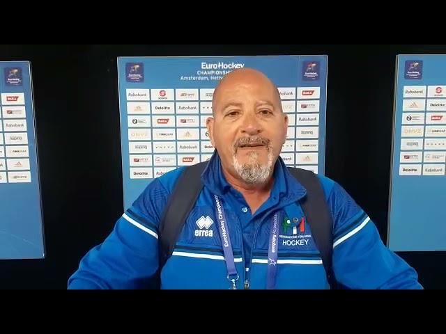 Mister Roberto Carta analizza Scozia-Italia 3-1