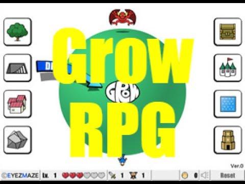 Grow RPG walkthrough