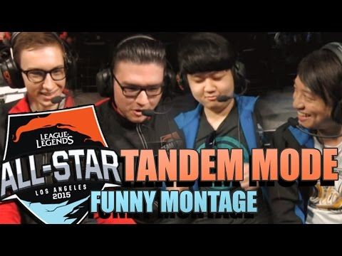 All-Stars 2015 TANDEM MODE - FUNNY MONTAGE | First Tandem Game Ever All Stars 2015 Day 4